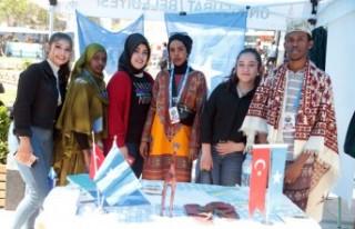 30 Ülkenin Üniversite Öğrencileri Kahramanmaraş'ta