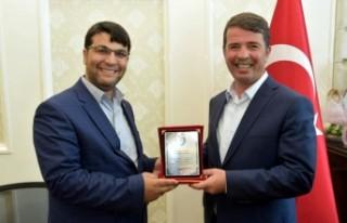 Çakıroğlu Derneğinden Başkan Okumuş'a Teşekkür