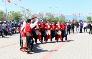 Kahramanmaraş'ta Bahar Şenlikleri Başladı