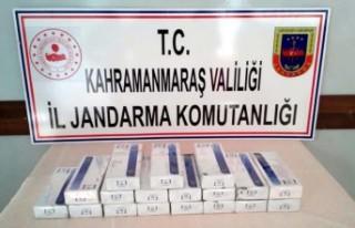 """Kahramanmaraş'ta """"Türkiye Duman""""..."""
