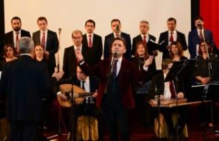 KSÜ'de Sadettin Kaynak Eserleri Konseri Düzenlendi