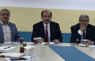 Rektör Can, Eğitime Destek Platformu Mart Ayı İstişare...