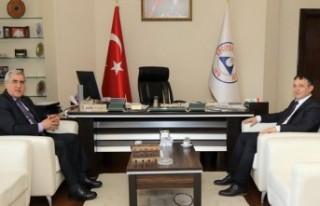 Rektör Can, Kayseri Erciyes Üniversitesi Rektörü...
