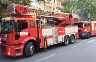 MHP Dulkadiroğlu İlçe Binasında Yangın