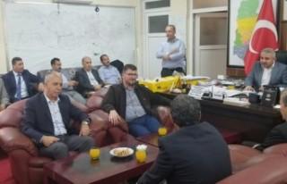 Başkan Avşaroğlu'ndan Yaşar Altuntel'e...