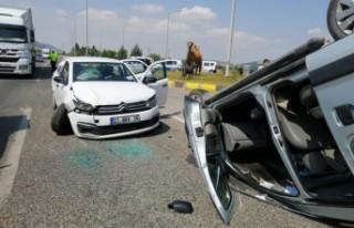 Kahramanmaraş'ta Trafik Kazası, Çok Sayıda Yaralı...