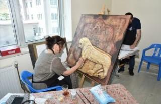 Türkoğlu Belediyesi 4.Ulusal Sanat Çalıştayı...