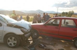 Afşin'de Zincirleme Trafik Kazası Çok Sayıda...