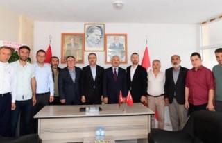 Başkan Gündör'den MHP Andırın Teşkilatına...