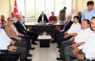 Başkan Güngör'den AK Parti Andırın İlçe Teşkilatına...