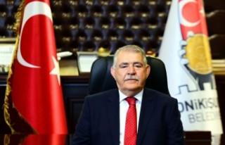 Başkan Mahçiçek'ten 15 Temmuz Demokrasi Zaferi...