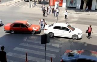 Kaza Yapan Sürücülerden Örnek Davranış