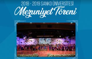 SANKO Üniversitesi Mezuniyet Töreni