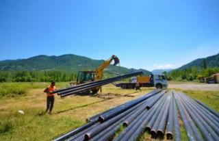 Tatarlı'da İçme Suyu Sorunu Çözülüyor
