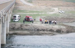 Barajda Akıntıya Kapılan Genç Kayboldu