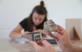 Domuztepe Höyüğü'nde Arkeolojik Kazı Çalışmaları...