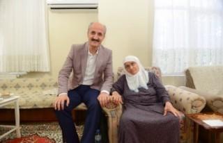Dulkadiroğlu'ndan Bayram Öncesi Şehit Ailelerine...