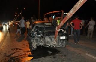 Elbistan'da Feci Kaza 12 Yaralı
