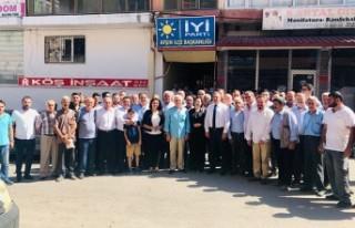 İYİ Parti Afşin İlçe Teşkilatında Coşkulu...
