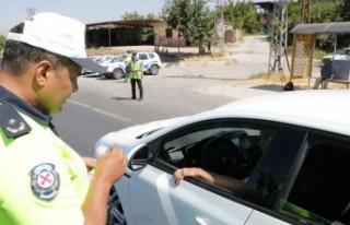 Kahramanmaraş'ta 'Drone'lu Bayram Trafiği...