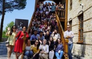 Yabancı Öğrenciler Kahramanmaraş'a Hayran Kaldı