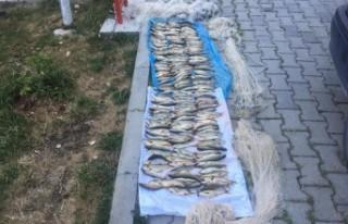 Yol Kontrolünde Yakalanan Kaçak Balıkçılara Para...