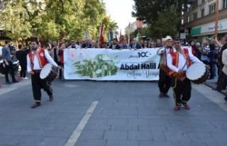 Abdal Halil Ağa'yı Anma Yürüyüşü Düzenlendi