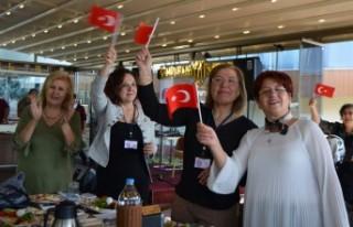 Cumhuriyet Kadınları 96. Yılı Coşkuyla Kutladı