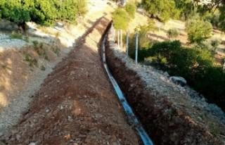 Dereli Mahallesinde İçme Suyu Çalışmaları Tamamlandı