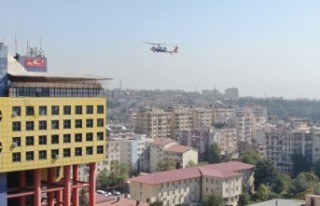 Gerçeği Aratmayan Helikopterli Yaralı Kurtarma...