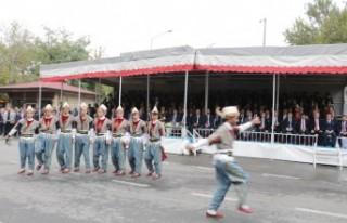 Kahramanmaraş Cumhuriyet Bayramını Coşkuyla Kutluyor