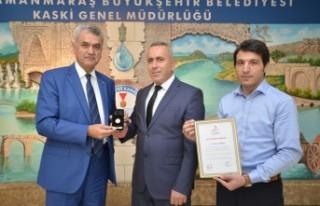 KASKİ Personeli Mikail Türkmen'e Kızılay'dan...