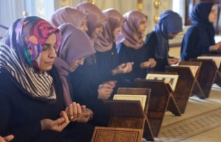 Kur'an Kursu Öğrencilerinden Barış Pınarı...