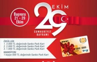 SANKO Park'tan Ödüllü Cumhuriyet Bayramı Şiir...