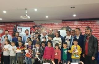 24 Kasım Öğretmen Günü Satranç Turnuvası Ödül...