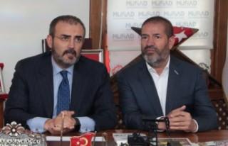AK Parti Genel Başkan Yardımcısı Ünal'dan MÜSİAD'a...