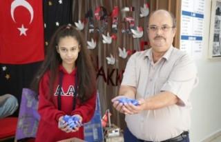 Babayla Kızı Engellilere Umut Oldu