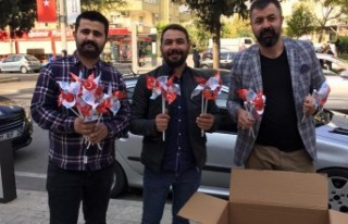 Kahramanmaraş Ülkü Ocakları'ndan 10 Kasım Etkinliği