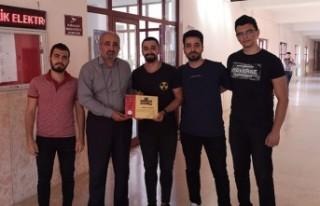 KSÜ Öğrencileri Yaptıkları Mobil Uygulamayla...