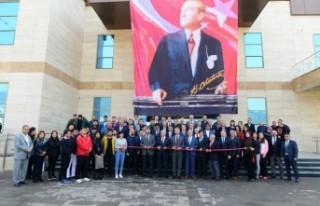 KSÜ Yarı Olimpik Kapalı Yüzme Havuzu Törenle...