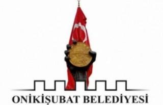 Onikişubat Belediyesi'nden Kamuoyu Duyurusu