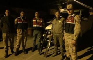 Projektörle Kaçak Ava Ceza Yağdı