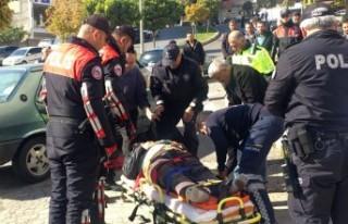 Trafik Kazası Sonrası Sopalı Bıçaklı Kavga:...