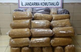 154 Kilo Kaçak Tütün Ele Geçirildi