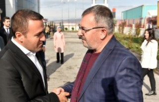 Başkan Aydın'dan Portal Çelik Kapıya Ziyaret