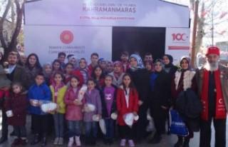 Gönüllü Gençlik Bu Kez Yetimlerin Gönlüne Dokundu