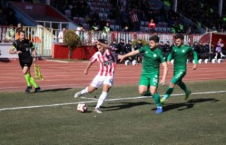 Kahramanmaraşspor: 2 - Sivas Belediyespor: 0