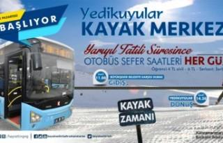Yarıyıl Tatilinde Yedikuyulara Otobüs Seferleri...