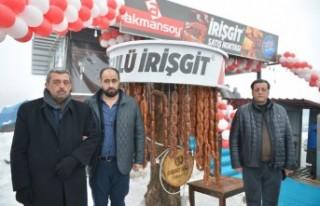Akmansoy Ve ATS'den 46 Metrelik İrişgit Rekoru