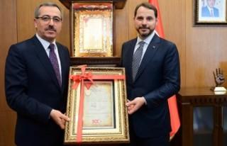 Başkan Güngör'den Bakan Albayrak'a İstiklal...